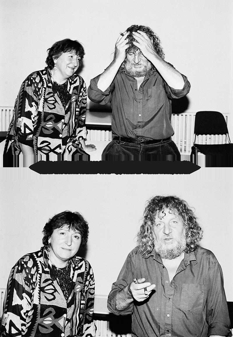 Foto von Karin und Bernd Kramer (1992)